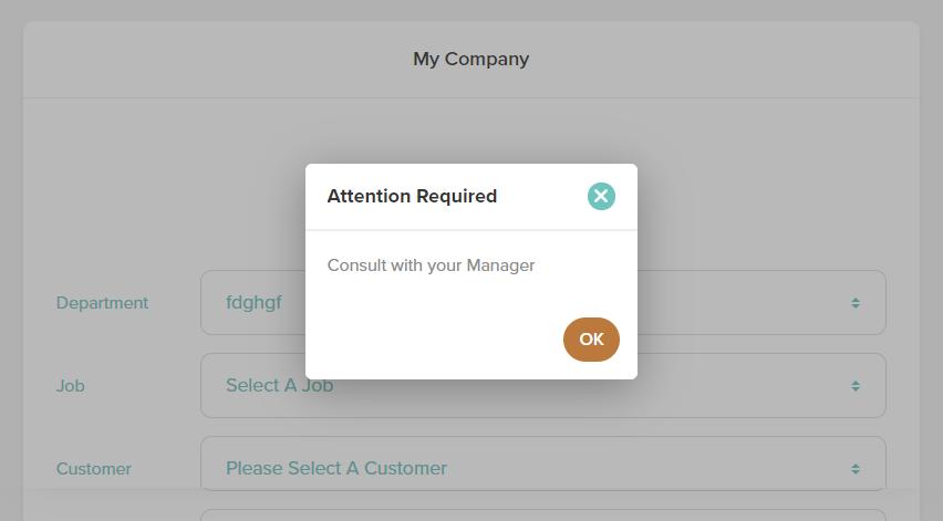 Employee survey prompts