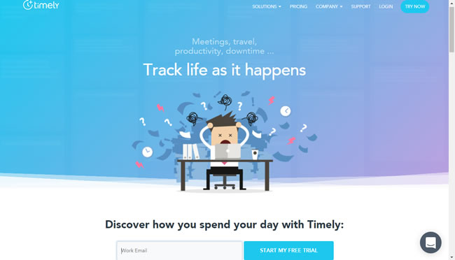 timely time tracking